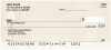 Vintage Wildflowers Personal Checks | CCS-24