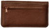 Dark Brown Leather Zippered Cover | CLZ-BRN01