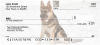 German Shepherds Personal Checks | DOG-01