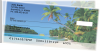 Island Paradise Side Tear Personal Checks | STSCE-02