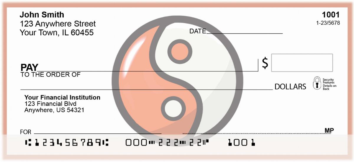 Yin-Yang Personal Checks