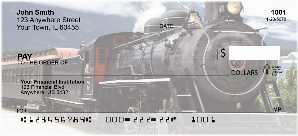 Steam Train Personal Checks