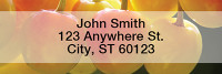 Fresh and Fruity Narrow Address Labels | LRFOD-01