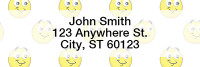 Smilies Rectangle Address Labels | LRGEO-08