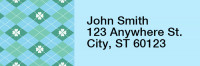 Clover Kilts Narrow Address Labels | LRRTVL-19
