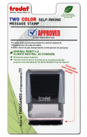 """Approved"" Message Stamp   