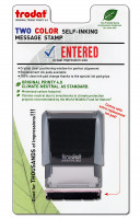 """Entered"" Message Stamp 