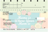 Mother's Day Top Stub Personal Checks | TSLOV-25