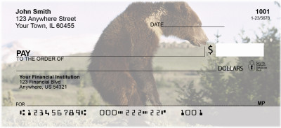 Bears in the Wild Personal Checks | ANI-10