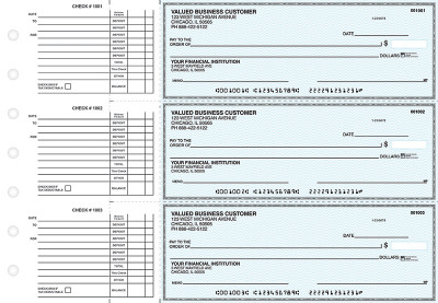 Teal Safety Accounts Payable Business Checks | BU3-ESF01-DED