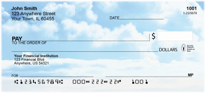Clouds Personal Checks | CCS-08