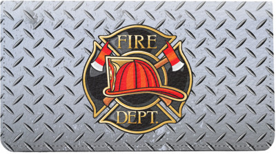 Firefighter Badges Leather Cover | CDP-PRO53