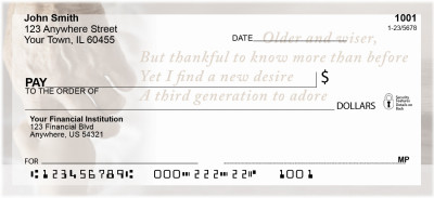 Grandparents Personal Checks by Sweet Intentions | SWE-02