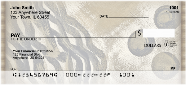 African Inspirations Personal Checks | ABS-45