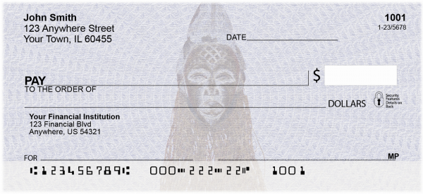 African Pride Personal Checks | AFR-01