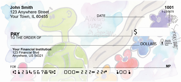 Dream Turtle Personal Checks | AMY-21