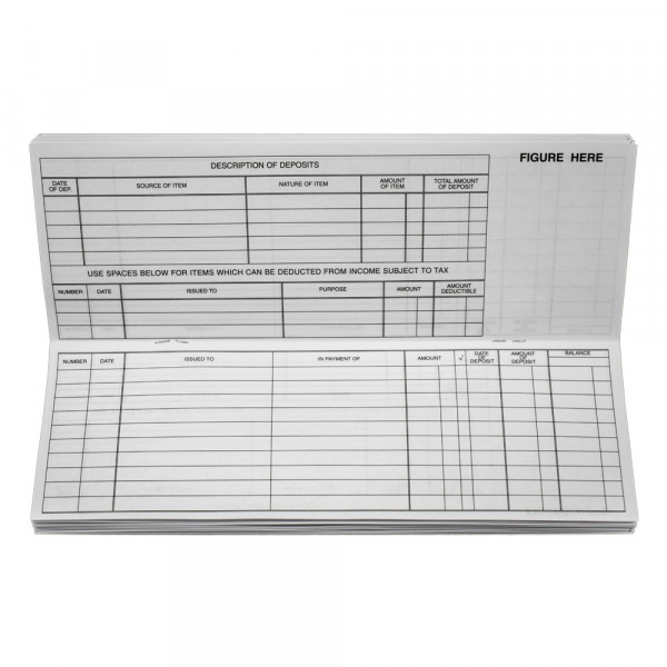 Business Pocket Check Register | BCR-01