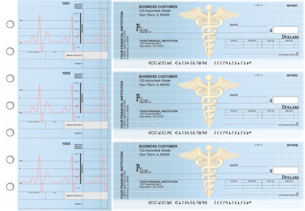 Medical Invoice Business Checks | BU3-CDS30-INV