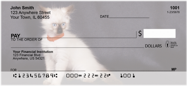 Birman Kittens Personal Checks | CAT-05