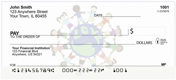 Children of the World Personal Checks | CCS-06