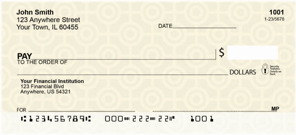 Colorful Circles Personal Checks | CCS-07