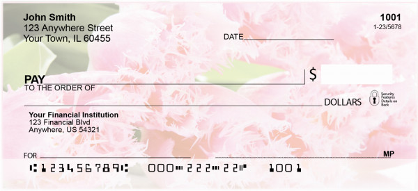 Floral Bouquet Personal Checks | CCS-11