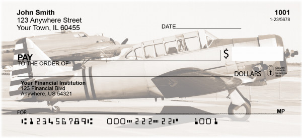 Warbirds Personal Checks | CCS-28