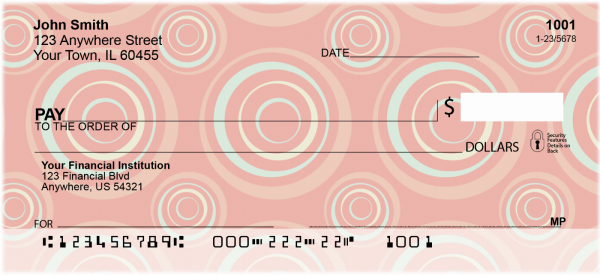 Lovely Tulips Personal Checks | CCS-31