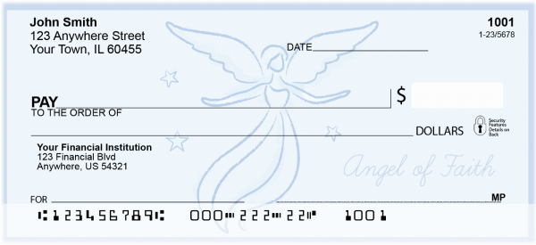 Angels of Peace, Hope, and Faith Personal Checks | CCS-38