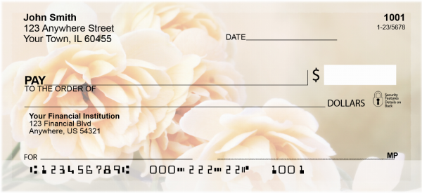 Lovely Roses Personal Checks | CCS-64