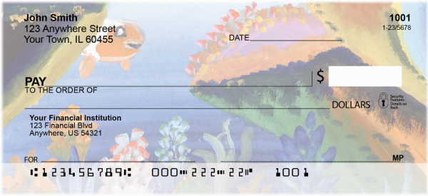 Under the Sea Personal Checks | CCS-71