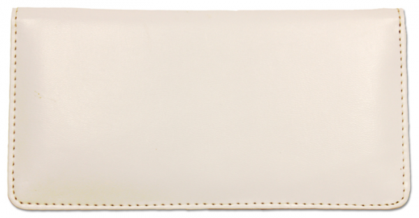 White Smooth Leather Cover | CLP-WHT01