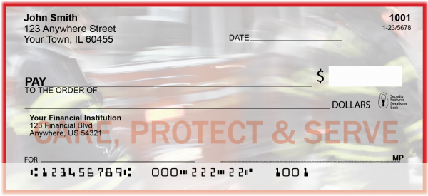 Serve and Protect - Firefighters Personal Checks | CSS-08