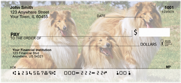 Collies Come home Personal Checks | DOG-70
