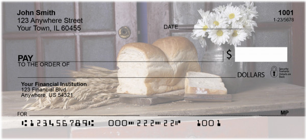 Country Kitchen Personal Checks | FOD-05