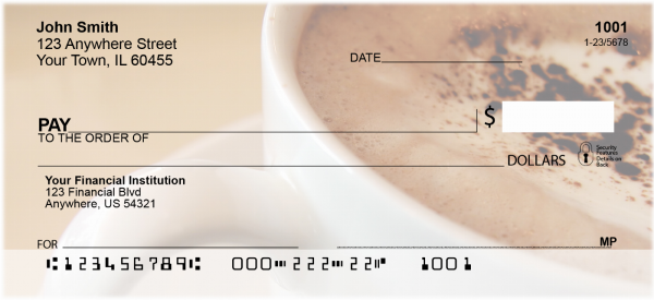 Coffee Break Personal Checks | FOD-10