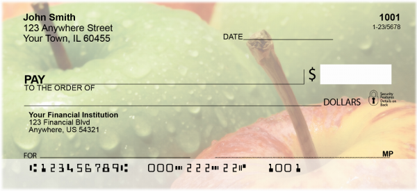 An Apple A Day Personal Checks | FOD-18