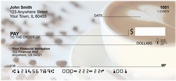 Cup of Joe Personal Checks | FOD-55