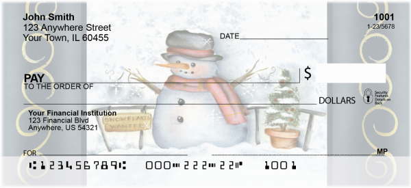 Snowflake Collector Checks by Lorrie Weber | JHS-19