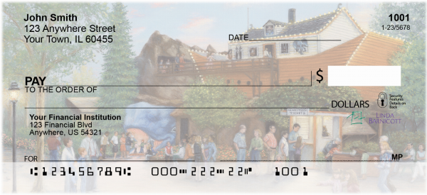 Romance Of Kennywood Personal Checks | LBC-01