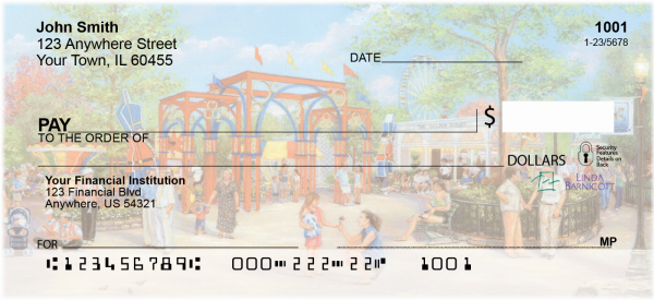 Wonders Of Kennywood Personal Checks | LBC-02