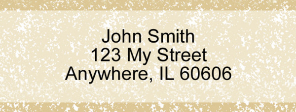 Parchment Narrow Address Labels | LRVAL-015