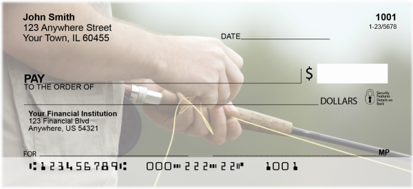 For Fly Fishing Enthusiasts Personal Checks | SPO-37