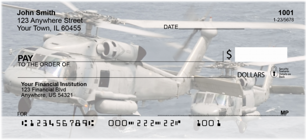 Military Choppers Personal Checks | TRA-21