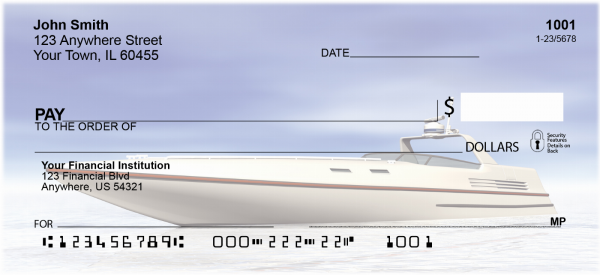 Boating Bonanzas Personal Checks | TRA-39