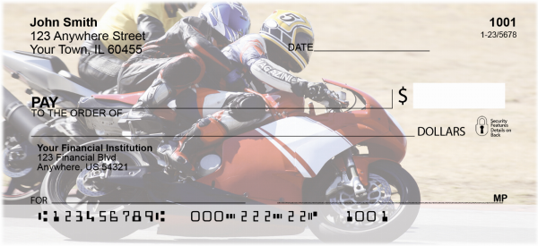 Racing Superbikes Personal Checks | TRA-B0