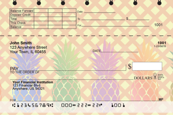 Pineapples Top Stub Checks | TSFOD-70